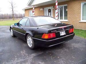 1992 Mercedes-Benz SL-Class cuir Cabriolet West Island Greater Montréal image 3