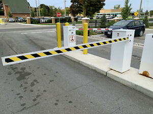 Used parking gates for sale