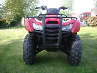 QUAD BIKE 4X4 HONDA 420 ROAD REG ON 11 PLATE 2011