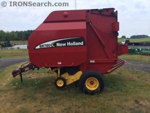 2005 New Holland BR780 Round Baler