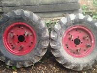 Rotavator tyres