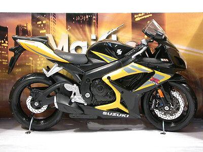 Maisto MIB 1:12 Suzuki GSX-R 750 Yellow/Black Item # 31153