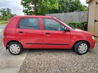 2004 Suzuki Alto 32k £30 tax MOT Nov