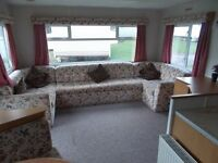 Double Glazed & Centrall Heated Immaculate Condition 3 Bedroom Caravan includes site fees