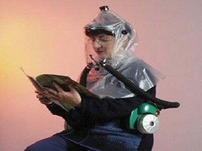 Nbc Gas Mask Protective Hood And Blower System