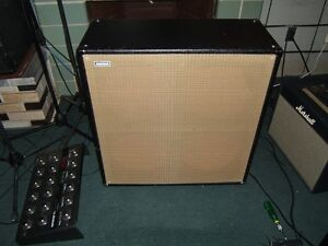 Avatar 4 x 12 Cab unloaded with all mounting hardware and grill