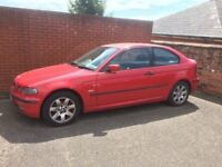BMW 3 series 316Ti Compact 2003 Red Car