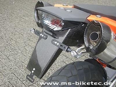 Kennzeichenhalter Carbon KTM  SM 950 SM 990 SMT SMR LC8 Supermoto ohne ABS online kaufen