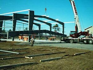 Prefab Steel Building Construction
