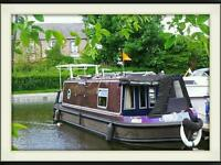 SEA OTTER NARROW BOAT ALUMINIUM 31FOOT 4 BERTH 2005 MODEL