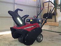 "22"" Electric Start Gas Snowblower"