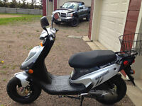 2006 PGO 50cc scooter, like new!