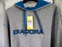 DIADORA HOODIE, XL, BRAND NEW WITH TICKET, HALF PRICE, NEVER WORN, BARGAIN PRICE