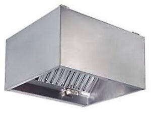 "Commercial Kitchen Hood 42"" X 42"""