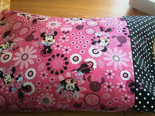Personlized toddler size minnie mouse pillowcase handcrafted