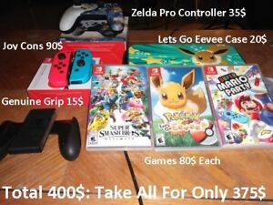 Nintendo Switch Games/Accessories (Great Deal)