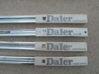 DALER METAL FRAME KITS - POLISHED SILVER ALUMINIUM