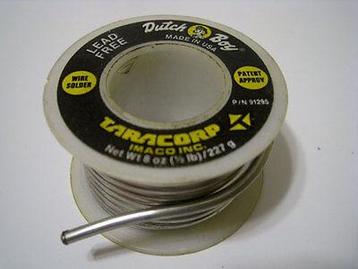 Dutch Boy 91295 Lead Free Wire Solder - 0.125 Diameter Gauge - 5 Ounce Roll