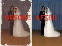Professional Photo Restoration