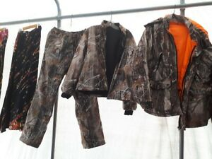 camouflage 3pc hunting isolated suit