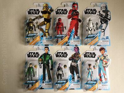 """STAR WARS: Resistance - (Wave - 1) - 3.75"""" (MOC) - Action Figures"""
