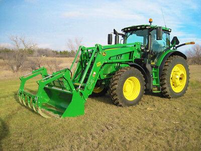 2015 John Deere 6195r Tractors