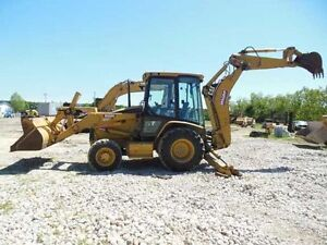 Rental Backhoes! Prices starting at $1800 per month