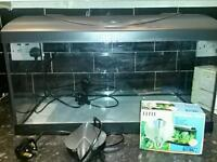Diversa 2' fishtank with 2 filters