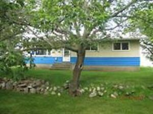 Beautiful Bungalow Acreage Bruderheim 8.06 acres $474,900