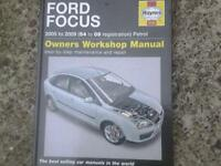 Ford Focus Haynes manual 2005-2009