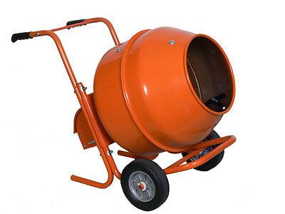 8 Cubic Horizontal Portable Wheel Barrow Cement Mixer