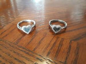 Jewellery - two rings from Peoples Jewellers