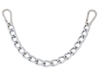 Formay,metal curb chain with snap links 111823A,western horse tack