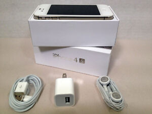 Apple iPhone 4S - 32GB - White (AT&T) Smartphone **MINT** SEE PHOTOS
