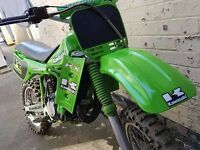 Kawasaki kx 80 -100 Ready for season