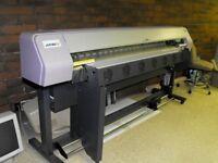 """Mimaki JV3 160SP Inkjet 52"""" Solvent Printer"""