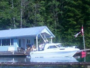 1/3 share in 3 bedroom Float Cabin in Barclay Sound