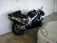 Suzuki TL1000R V reg, Jet Black, Carbon Cans - LOUD!, New Battery, Superb V Twin, £2250.00 ono