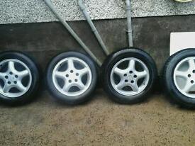 15 inch Vauxhall Alloys 5 stud