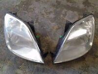 ford fiesta mk6 headlights