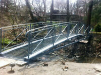 Iron bridges, Gazebos, and Canopy railings