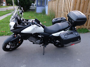 BRAND NEW OEM V-strom 650cc seat for sale!