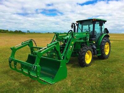 2016 John Deere 5100e Compact Utility Tractors
