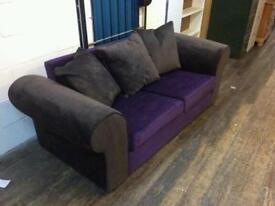 Ex display Anita sofa bed metal action only £135