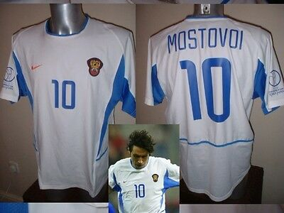 Russia USSR Mostovoi Shirt Jersey Football Soccer Adult XL Trikot Vintage 2002 image