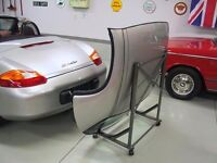 Car hardtop roof stand