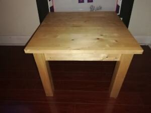 Ikea End Table - wooden