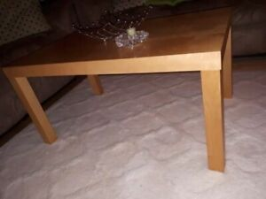 Coffee table, dining table, 4 chairs, 3 bar stools
