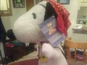 "SNOOPY COLLECTABLE 21"" BRAND NEW"