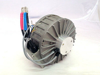 Heinzmann Perm Pms 120 Brushless Motor 7kw As Used On Brammo Enertia